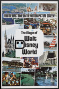 "Movie Posters:Short Subject, The Magic of Walt Disney World (Buena Vista, 1972). One Sheet (27""X 41""). Short Subject. Starring Steve Forrest. Directed b..."