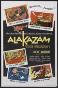 "Movie Posters:Animated, Alakazam the Great (AIP, 1960). One Sheet (27"" X 41""). Animated. Starring Frankie Avalon, Kiyoshi Komiyama, Noriko Shindô, H..."