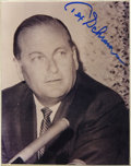 Football Collectibles:Others, Tex Schramm Signed Photograph The appropriately named Texas Schramm (that was his given name!) was the founding father of t...
