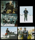 "Movie Posters:Academy Award Winner, Patton (20th Century Fox, 1970). Deluxe Lobby Cards (5) (11"" X14""). War. Starring George C. Scott, Karl Malden, Stephen You...(Total: 5 Item)"