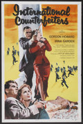 "Movie Posters:Crime, International Counterfeiters (Republic, 1958). One Sheet (27"" X 41""). Crime...."