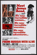 "Movie Posters:James Bond, From Russia with Love (United Artists, R-1980). One Sheet (27"" X41""). James Bond. Starring Sean Connery, Daniela Bianchi, P..."