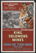"Movie Posters:Adventure, King Solomon's Mines (MGM, 1950). One Sheet (27"" X 41""). Adventure.Starring Deborah Kerr, Stewart Granger, Richard Carlson,..."