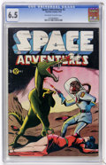 Golden Age (1938-1955):Science Fiction, Space Adventures #2 (Charlton, 1952) CGC FN+ 6.5 Off-white to whitepages....