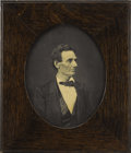 "Photography:Cabinet Photos, Abraham Lincoln Framed Print, 10.75"" x 12.5"" (overall), of thephotograph of Lincoln as Republican nominee taken by Alexande..."