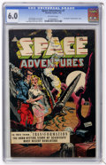 Golden Age (1938-1955):Science Fiction, Space Adventures #7 (Charlton, 1953) CGC FN 6.0 Off-white pages....