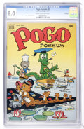 Golden Age (1938-1955):Funny Animal, Pogo Possum #8 File Copy (Dell, 1952) CGC VF 8.0 Cream to off-whitepages....