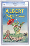 Golden Age (1938-1955):Funny Animal, Four Color #105 Albert the Alligator and Pogo Possum - File Copy(Dell, 1946) CGC FN/VF 7.0 Cream to off-white pages....