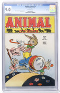 Golden Age (1938-1955):Funny Animal, Animal Comics #9 File Copy (Dell, 1944) CGC VF/NM 9.0 Off-whitepages....