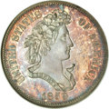 Patterns, 1859 P50C Half Dollar, Judd-239, Pollock-295, R.5, PR65 NGC....