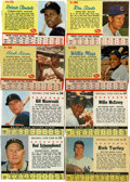 Baseball Cards:Sets, 1961-63 Post Cereal Partial Sets Run (3).... (Total: 3 sets)
