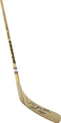 Hockey Collectibles:Others, Phil Esposito Signed Hockey Stick....