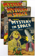 Silver Age (1956-1969):Science Fiction, Mystery in Space Group (DC, 1957-62) Condition: Average GD/VG....(Total: 7 Comic Books)