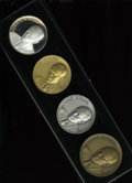 U.S. Presidents & Statesmen, Four-Piece Gerald Ford Inaugural Medal Set.... (Total: 4 pieces)