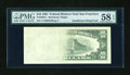 Error Notes:Blank Reverse (<100%), Fr. 2025-L $10 1981 Federal Reserve Note. PMG Choice About Unc 58 EPQ.. ...