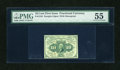 Fractional Currency:First Issue, Fr. 1242 10c First Issue PMG About Uncirculated 55....
