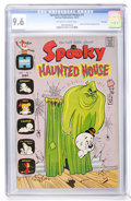Bronze Age (1970-1979):Cartoon Character, Spooky Haunted House #1 File Copy (Harvey, 1972) CGC NM+ 9.6Off-white to white pages....