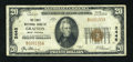 National Bank Notes:West Virginia, Grafton, WV - $20 1929 Ty. 1 The First NB Ch. # 2445. ...