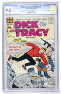 Silver Age (1956-1969):Mystery, Dick Tracy Comics Monthly #134 File Copy (Harvey, 1959) CGC VF/NM9.0 Cream to off-white pages....