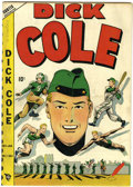Golden Age (1938-1955):Adventure, Dick Cole #1 Windy City pedigree (Curtis , 1949) Condition: FN+....