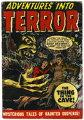 Golden Age (1938-1955):Horror, Adventures Into Terror #43 (#1) (Atlas, 1950) Condition: VG....