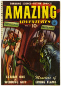 Golden Age (1938-1955):Science Fiction, Amazing Adventures #2 (Ziff-Davis, 1951) Condition: FN-....
