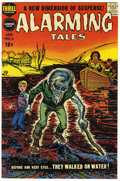 Golden Age (1938-1955):Horror, Alarming Tales #3 File Copy (Harvey, 1958) Condition: VF+....