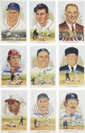 Autographs:Post Cards, 1989 Perez-Steele Celebration Group Lot of 44, Signed by 25....(Total: 44 items)