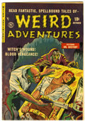 Golden Age (1938-1955):Horror, Weird Adventures #3 (P.L. Publishing Co., 1951) Condition:VG/FN....