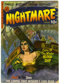 Golden Age (1938-1955):Horror, Nightmare #1 (Ziff-Davis, 1952) Condition: VG+....