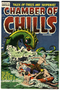 Golden Age (1938-1955):Horror, Chamber of Chills #26 (Harvey, 1954) Condition: FN/VF....