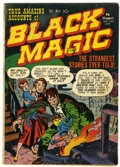 Golden Age (1938-1955):Horror, Black Magic #1 (Prize, 1950) Condition: Apparent VG....