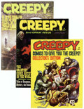 Magazines:Horror, Creepy Group (Warren, 1964-66) Condition: Average FN/VF.... (Total: 8 Items)