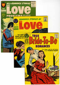 Harvey Romance Comics - File Copy Group (Harvey, 1957-58) Condition: Average VF/NM.... (Total: 8 Comic Books)