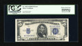 Error Notes:Obstruction Errors, Fr. 1654 $5 1934D Wide I Silver Certificate. PCGS Choice About New55PPQ.. ...