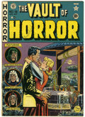 Golden Age (1938-1955):Horror, Vault of Horror #18 (EC, 1951) Condition: VG/FN....