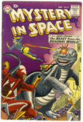 Silver Age (1956-1969):Science Fiction, Mystery in Space #55 (DC, 1959) Condition: VG+....