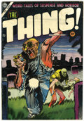 Golden Age (1938-1955):Horror, The Thing! #16 (Charlton, 1954) Condition: VG....