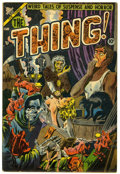 Golden Age (1938-1955):Horror, The Thing! #11 (Charlton, 1953) Condition: VG/FN....