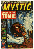 Golden Age (1938-1955):Horror, Mystic #22 (Atlas, 1953) Condition: FN/VF....