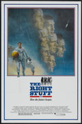 "Movie Posters:Adventure, The Right Stuff (Warner Brothers, 1983). One Sheet (27"" X 41"").Adventure...."
