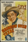 "Movie Posters:Western, Rainbow Over Texas (Republic, 1946). One Sheet (27"" X 41""). Western...."