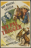 """Movie Posters:Western, My Pal Trigger (Republic, 1946). One Sheet (26"""" X 40.5""""). Western...."""