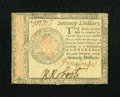 Colonial Notes:Continental Congress Issues, Continental Currency January 14, 1779 $70 Very Fine....