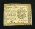 Colonial Notes:Continental Congress Issues, Continental Currency September 26, 1778 $20 Choice About New....