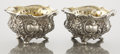Silver Holloware, American:Open Salts, A PAIR OF AMERICAN SILVER AND SILVER GILT MASTER SALTS. GorhamManufacturing Co., Providence, Rhode Island, circa 1935. Mark...(Total: 2 Items)