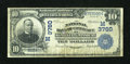 National Bank Notes:Missouri, Kansas City, MO - $10 1902 Date Back Fr. 618 The NB of Commerce Ch.# (M)3760. ...