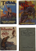 Books:Fiction, Edgar Rice Burroughs. Four Pellucidar Titles,... (Total: 4 Items)