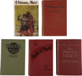 Books:First Editions, Edgar Rice Burroughs. First Five Mars Titles,... (Total: 5 Items)