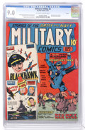 Golden Age (1938-1955):War, Military Comics #2 Larson pedigree (Quality, 1941) CGC VF/NM 9.0 Off-white to white pages....